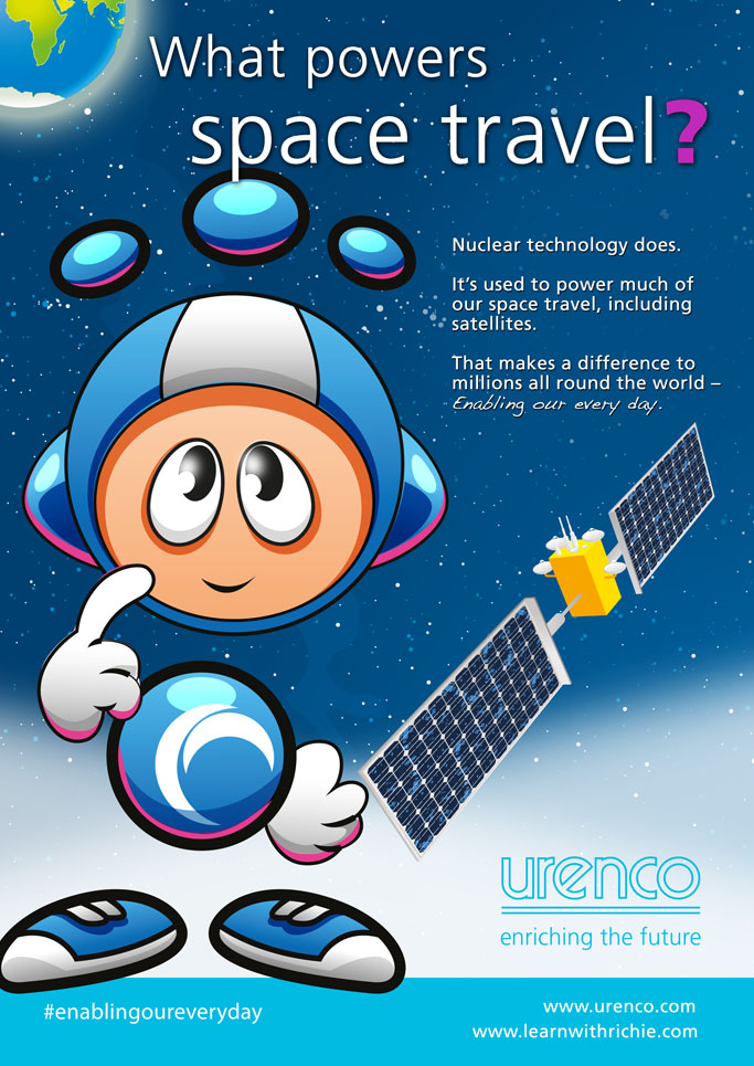 Richie British Science Association And Urenco Launch